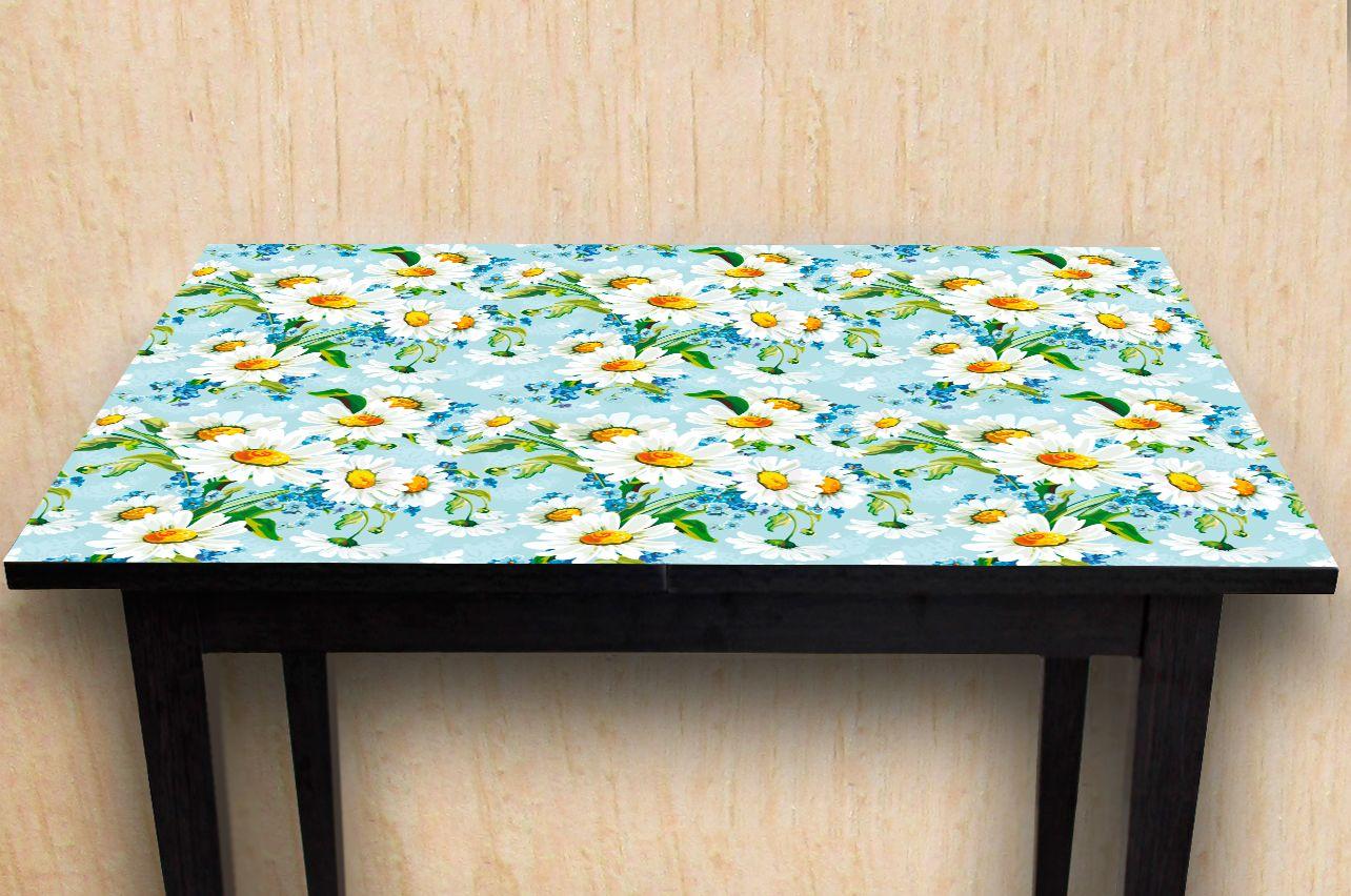 Наклейка на стол - Ромашки | Купить фотопечать на стол в магазине Интерьерные наклейки