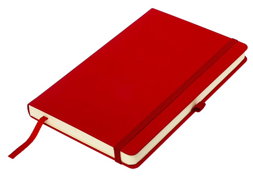 красные бизнес-блокноты Silky