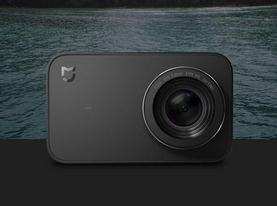 MiJia 4K Small Camera стильная экшн-камера