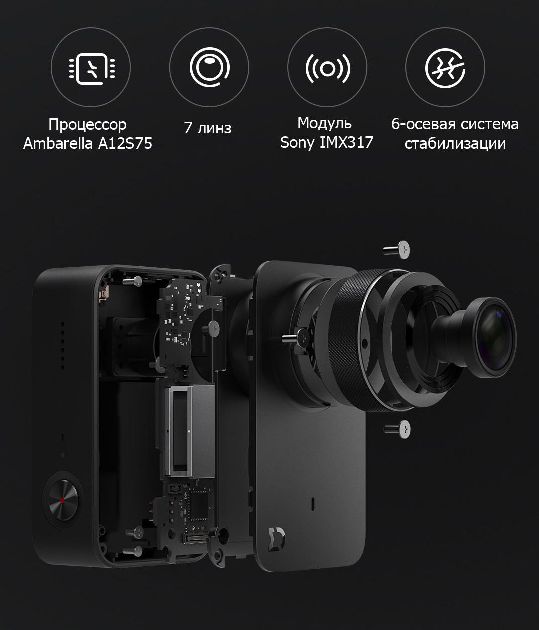 MiJia 4K Small Camera инновации