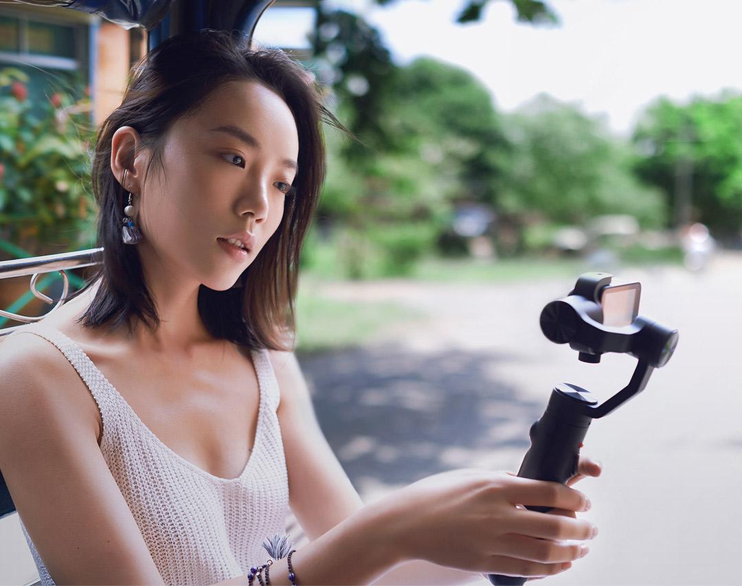 MiJia 4K Small Camera качественная съемка