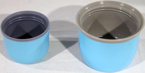 Набор из двух термосов Fangda - крышки-чашки