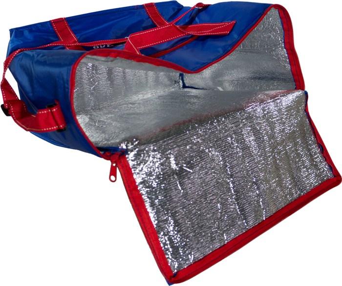 Изотермическая термосумка Cooler Bag 26 литров - фольгированная ткань