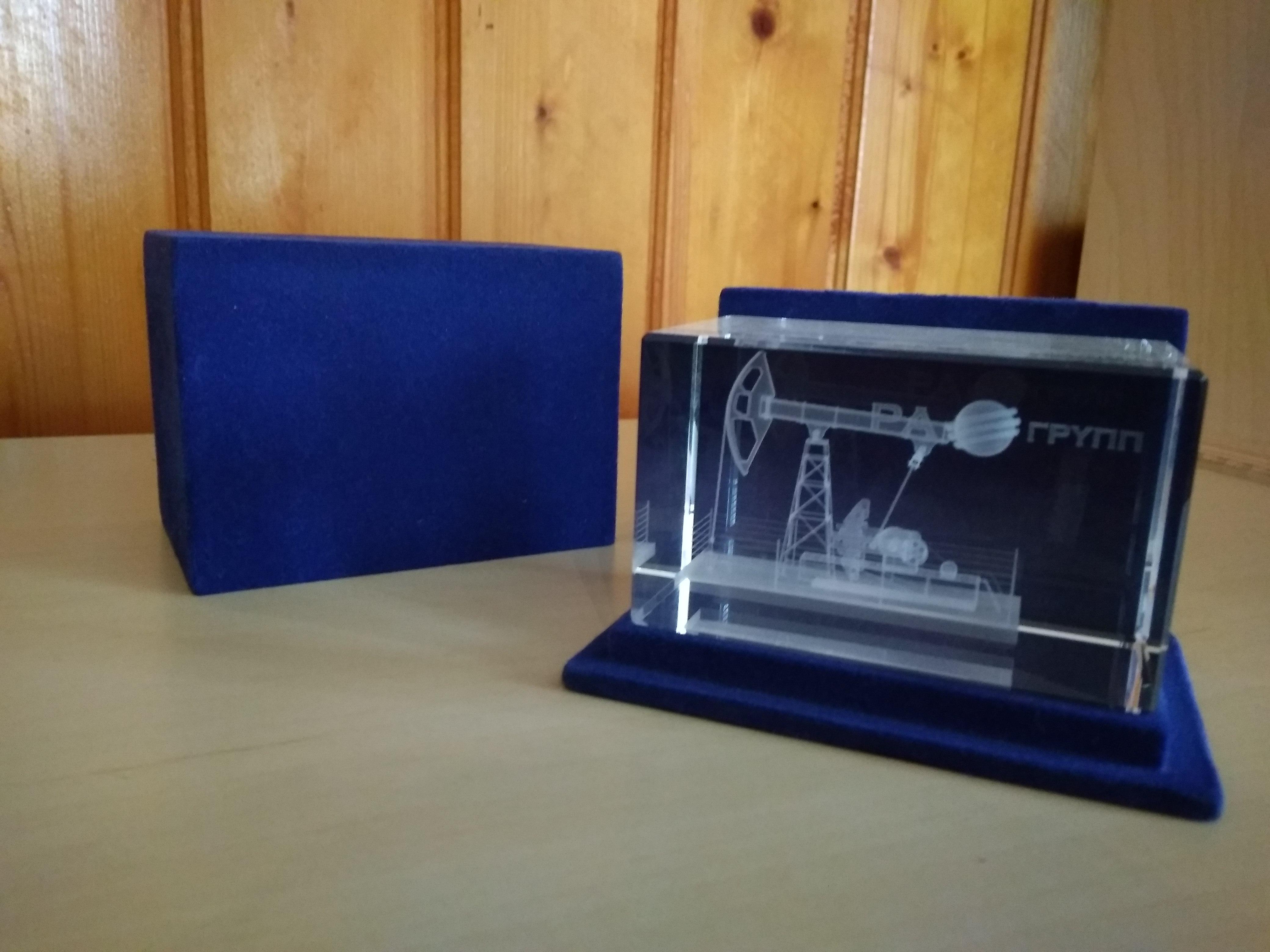 коробки для сувениров с 3D гравировкой
