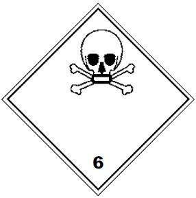 Класс опасности 6.1 ядовитые вещества