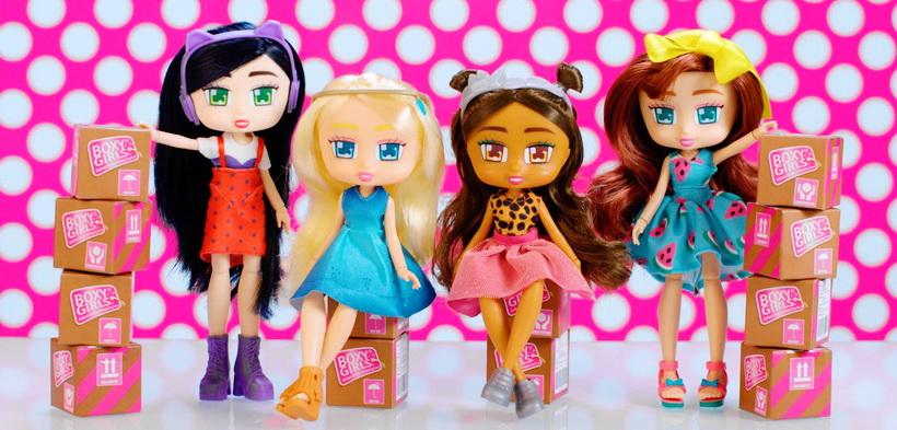 Куклы Boxy Girls