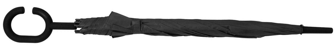 черный зонт-трость Halrum 345706/35