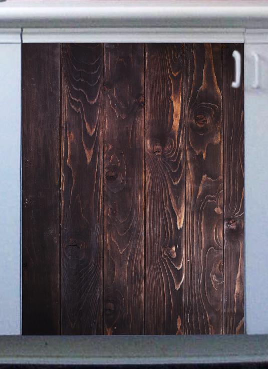 Наклейка на посудомоечную машину - Wood 4 | Интерьерные наклейки