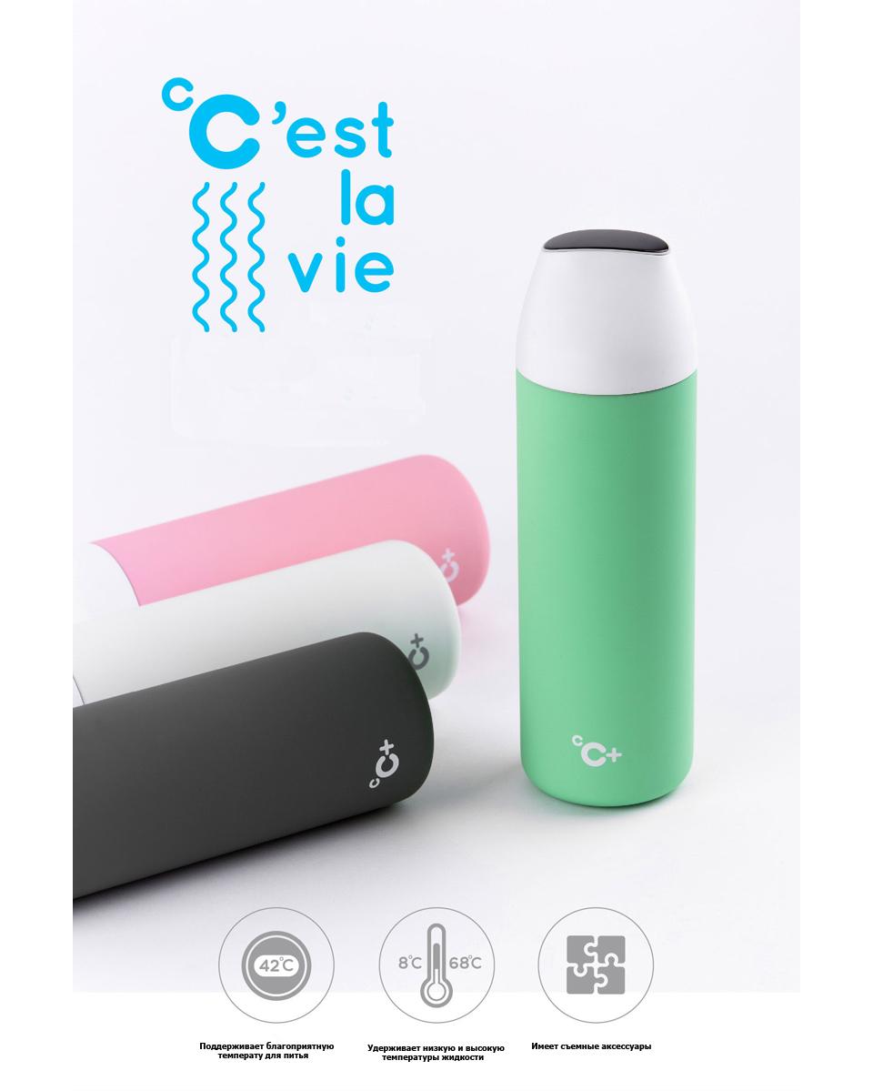 Xiaomi CC temperature visible cup устройство цвета