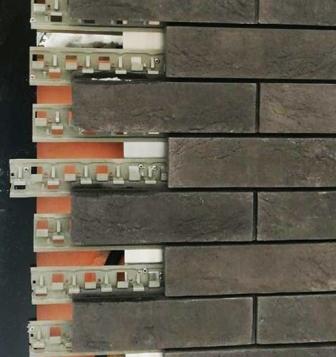 Вентилируемые фасады из клинкерной плитки без затирки