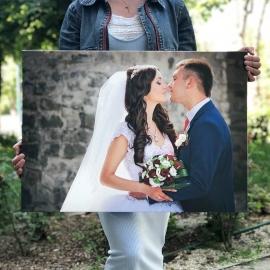 свадебное фото по фотографии