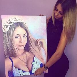 портрет женщины фото