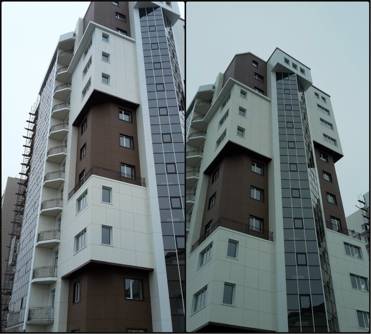 Область применения вентилируемого фасада