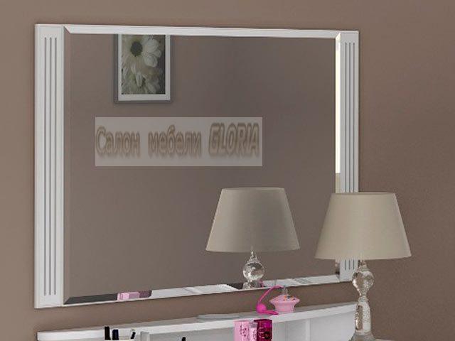 №7 Зеркало настенное (белое)