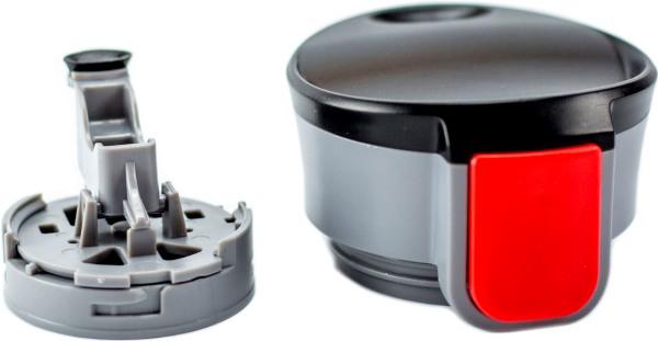 Термостакан для напитков el Gusto коллекция Corsa 470 мл с рисунком - крышка с поилкой в разборе