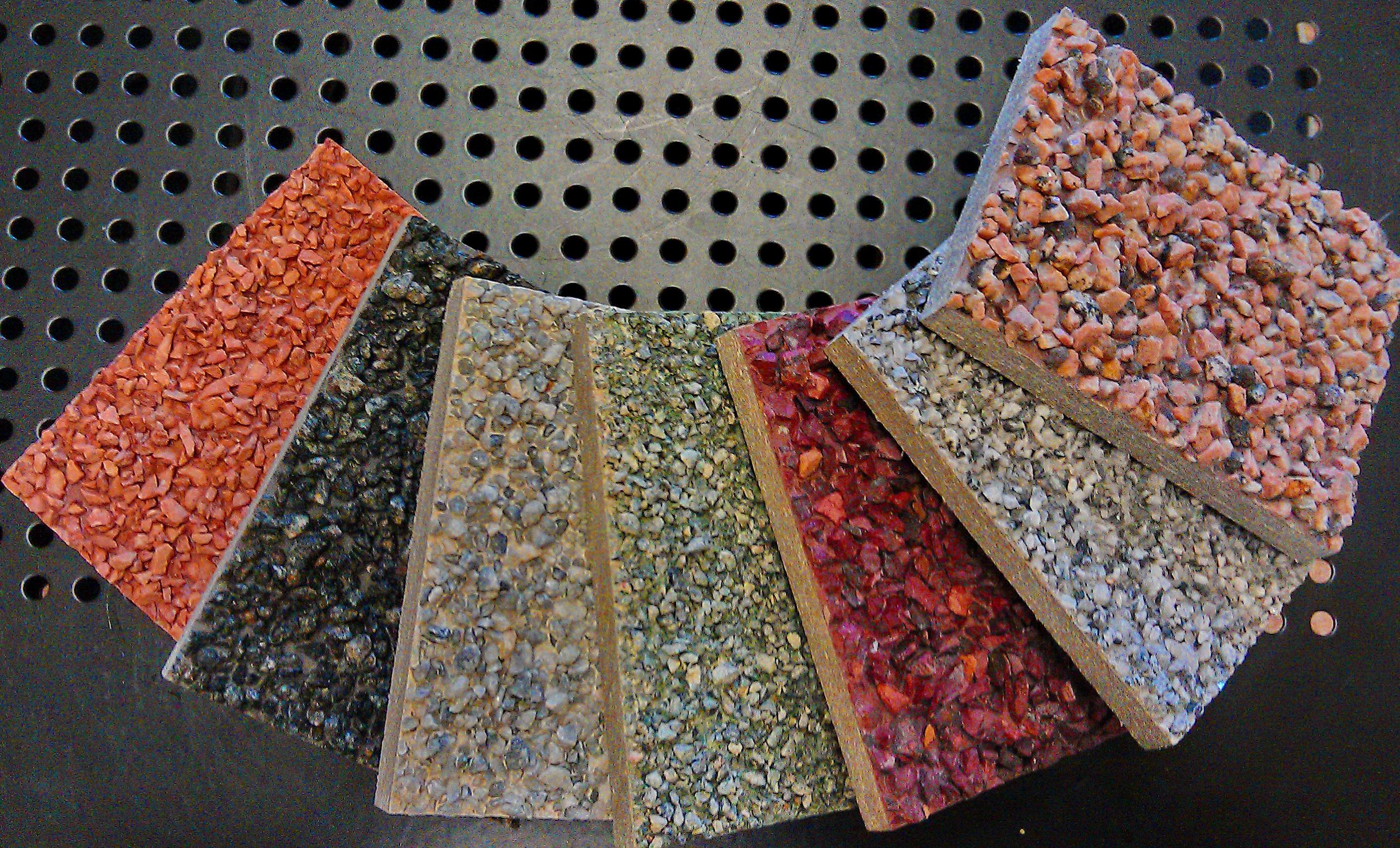 Асбестоцементные плиты с каменной крошкой, хризотилцемент