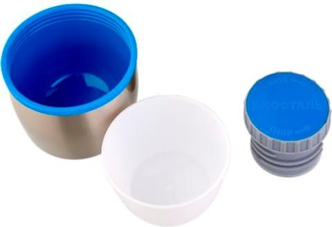 Термос Biostal Биосталь NBP-1 в чехле - крышка, пробка, чашка