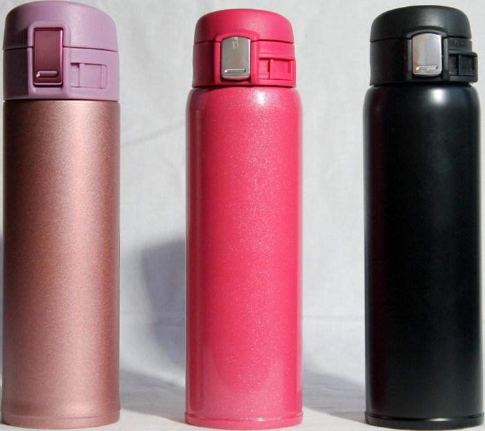 Термостакан Steel с поилкой 500 мл - доступные цвета