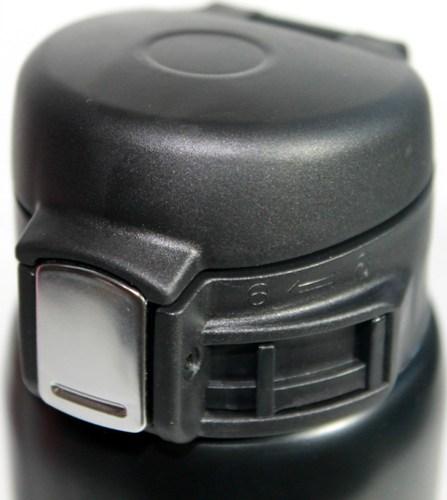 Термостакан Steel с поилкой 500 мл - крышка с кнопкой