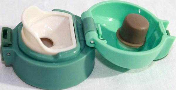 Термос питьевой In Life 200 мл детский - пробка с силиконовым уплотнителем