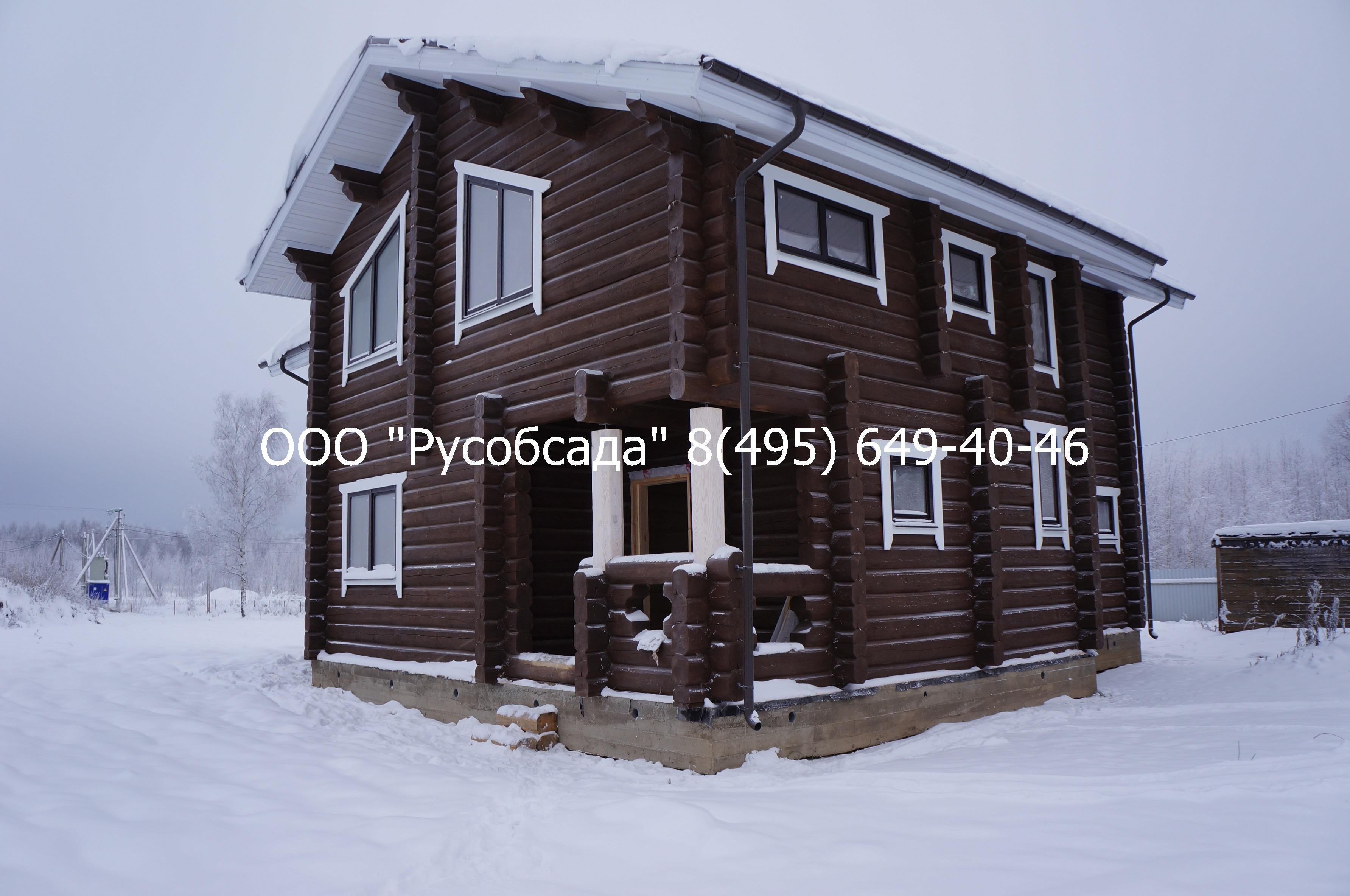 Остекление деревянного дома в Иваново