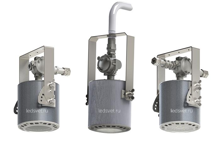 Новые взрывозащищенные светильники ПСС-50 1Ex