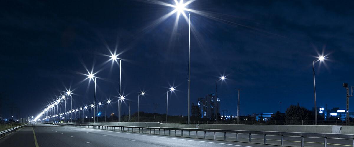 Уличное освещение в Казахстане