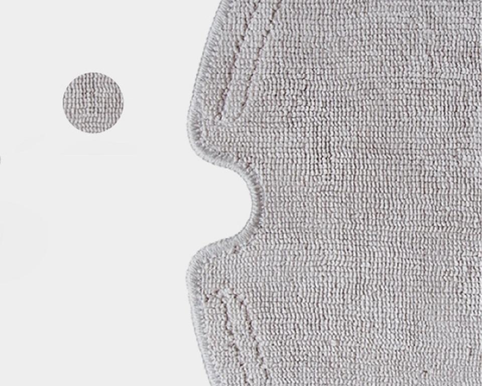 Mopping Cloth of Roborock Vacuum Cleaner Gray материал крупным планом