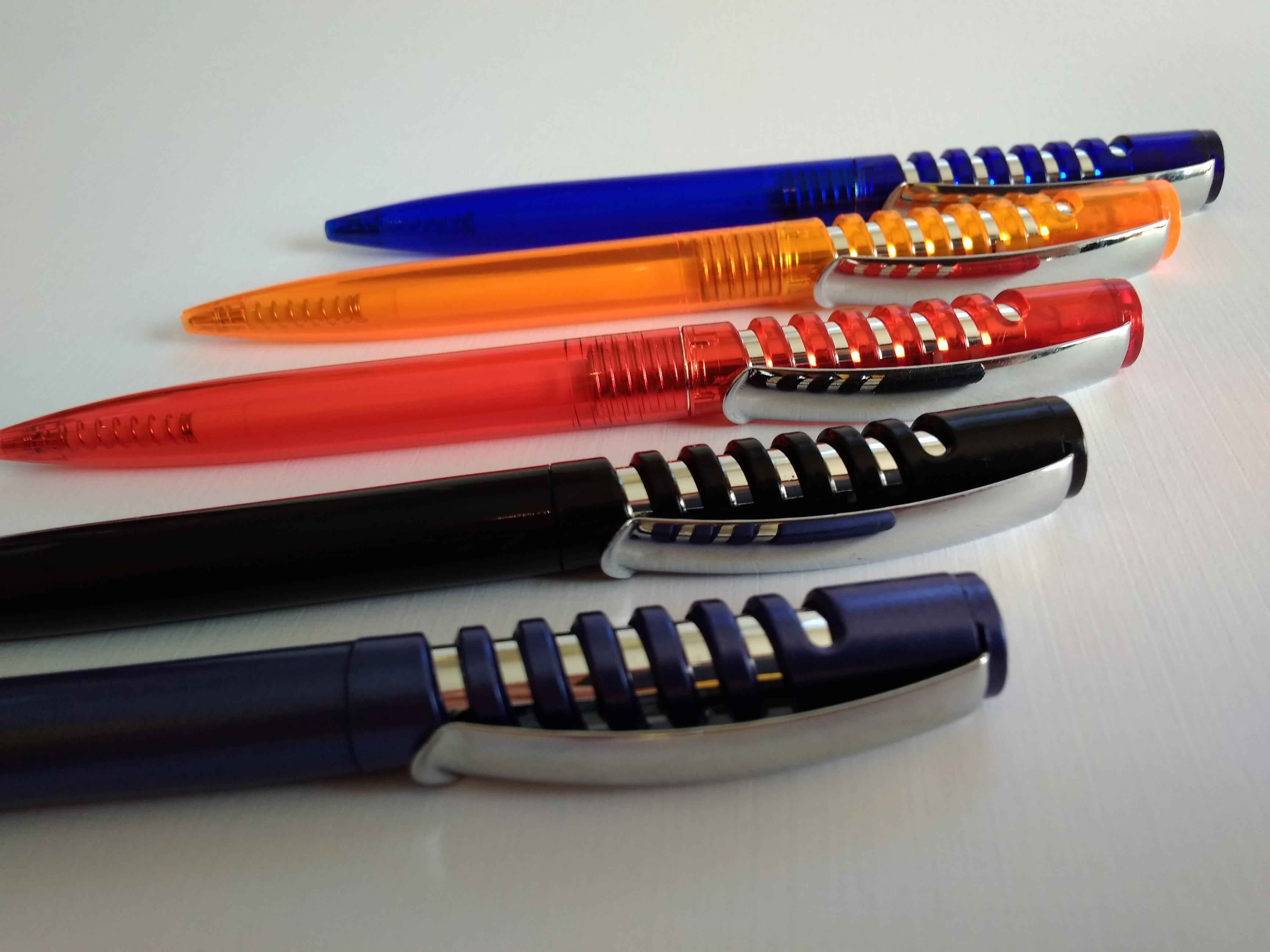 канцелярские ручки под нанесение