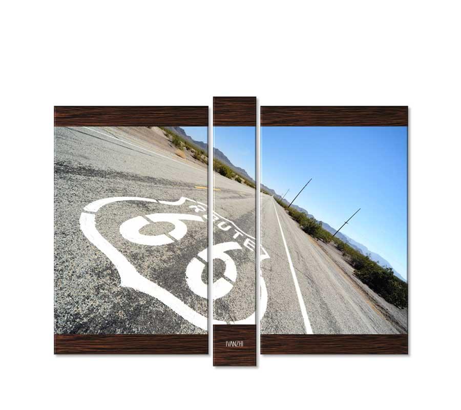Модульные картины дорога