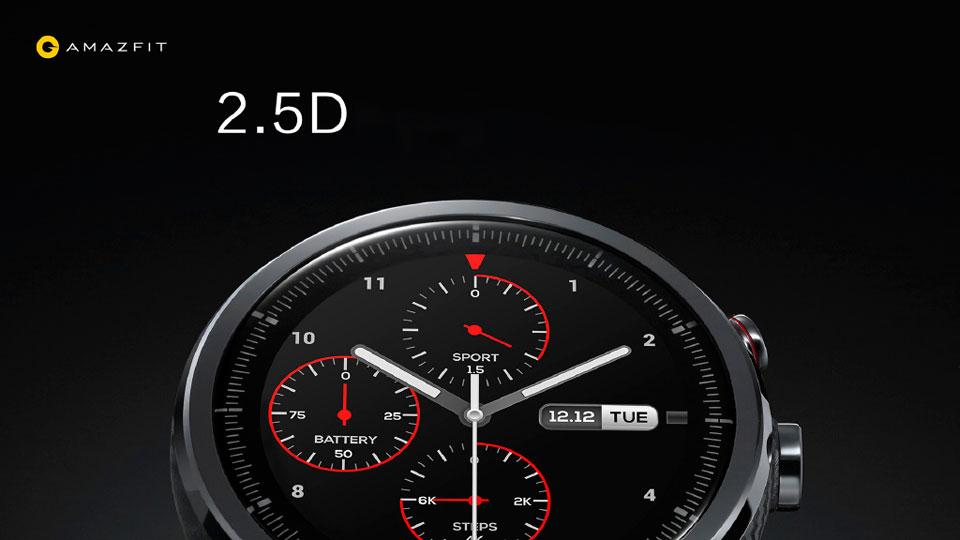 Amazfit Sport Smartwatch 2 стекло 2.5D