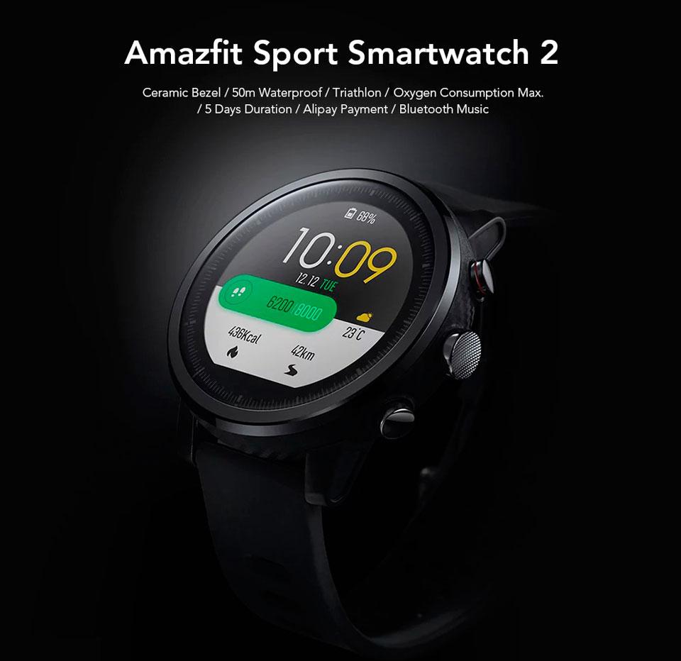 Amazfit Sport Smartwatch 2 многофункциональные умные часы