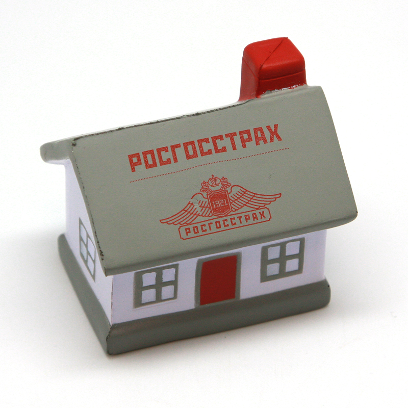 антистресс домик с логотипом
