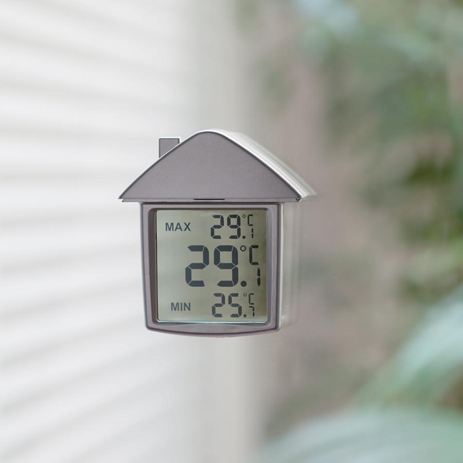 термометр в виде дома