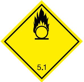 Класс опасности 5.1 Окисляющие вещества