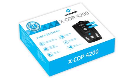 Коробка NEOLINE X-COP 4200