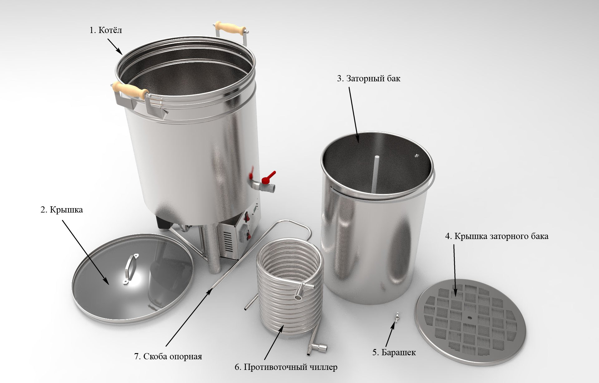 Домашняя пивоварня АЛКОВАР Бирмейкер