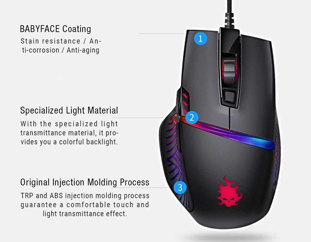 BLASOUL Light Effects Professional Gaming характеристики