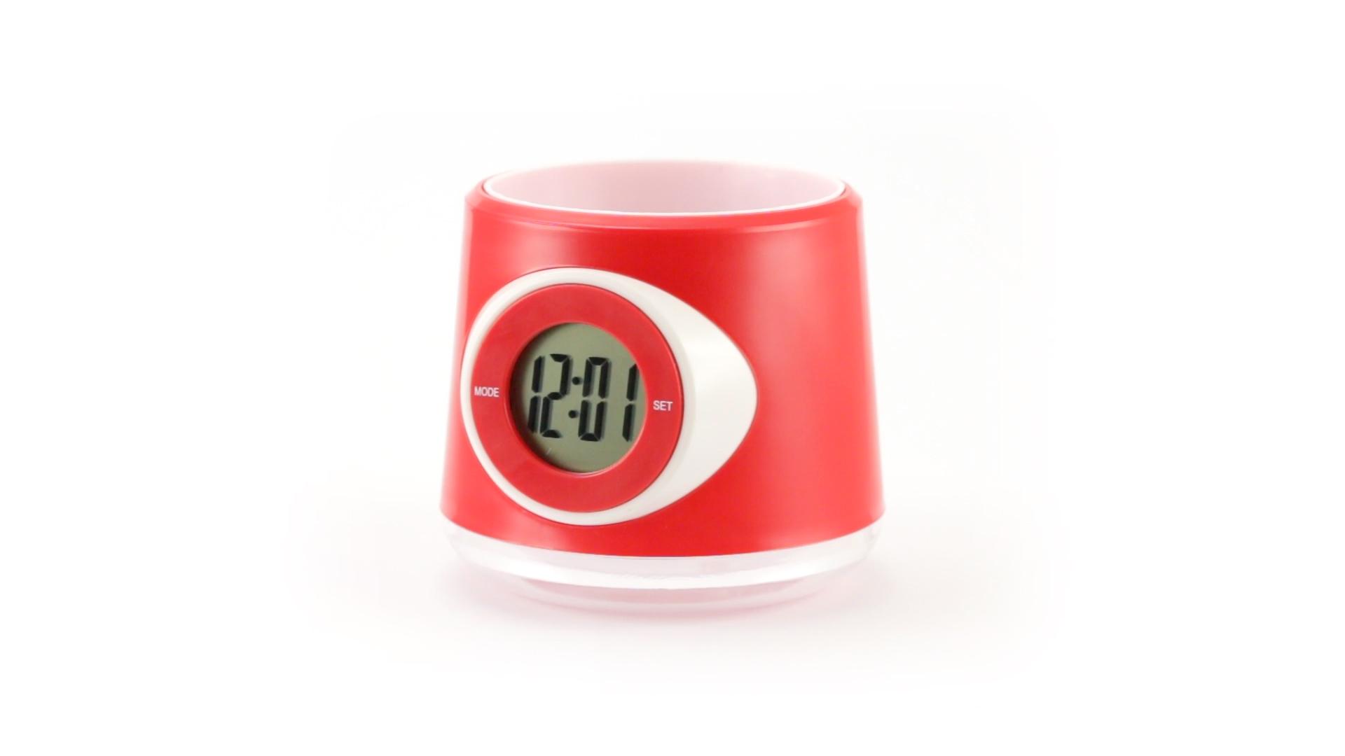 настольные часы с логотипом