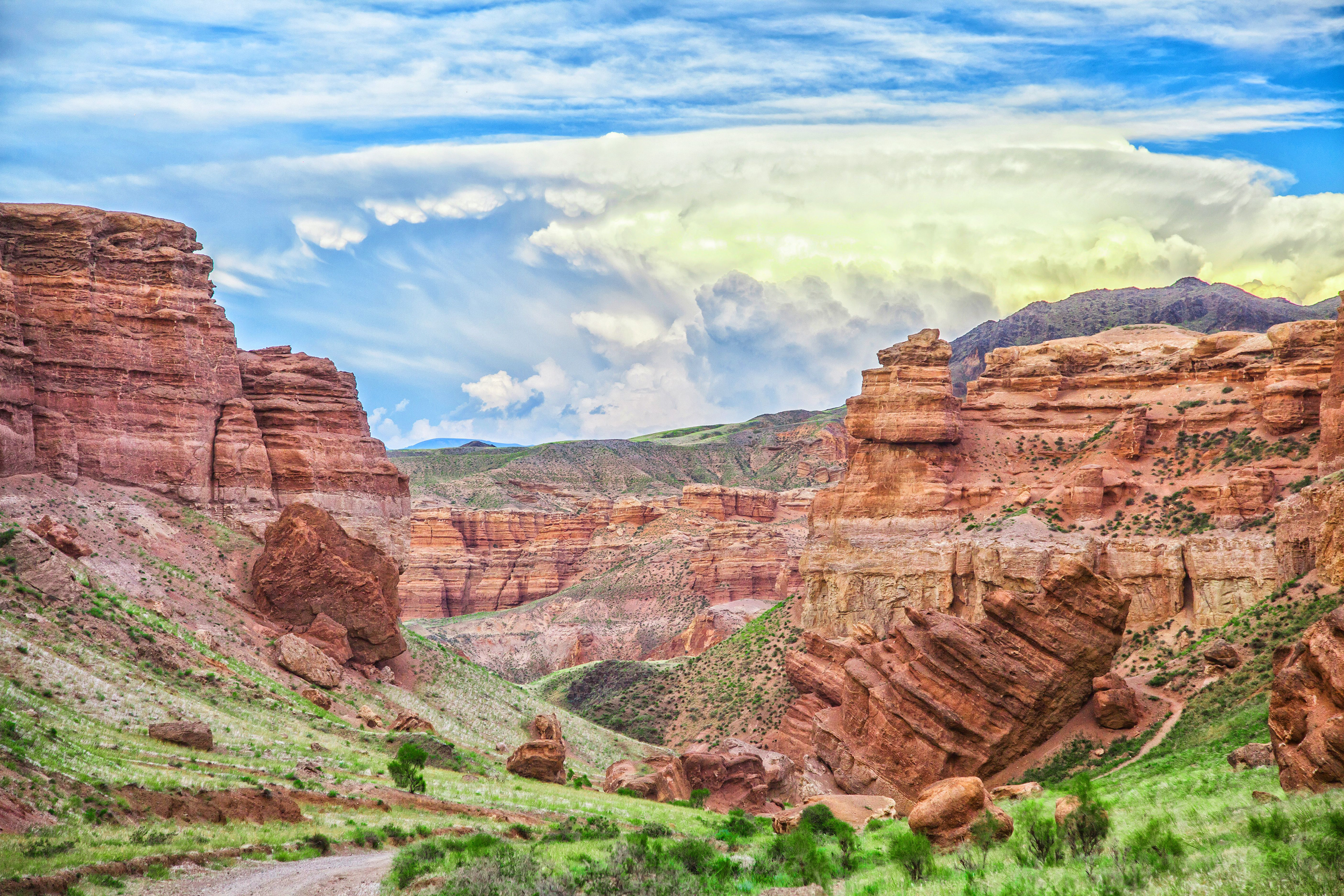 Чарынский каньон Долина Замков