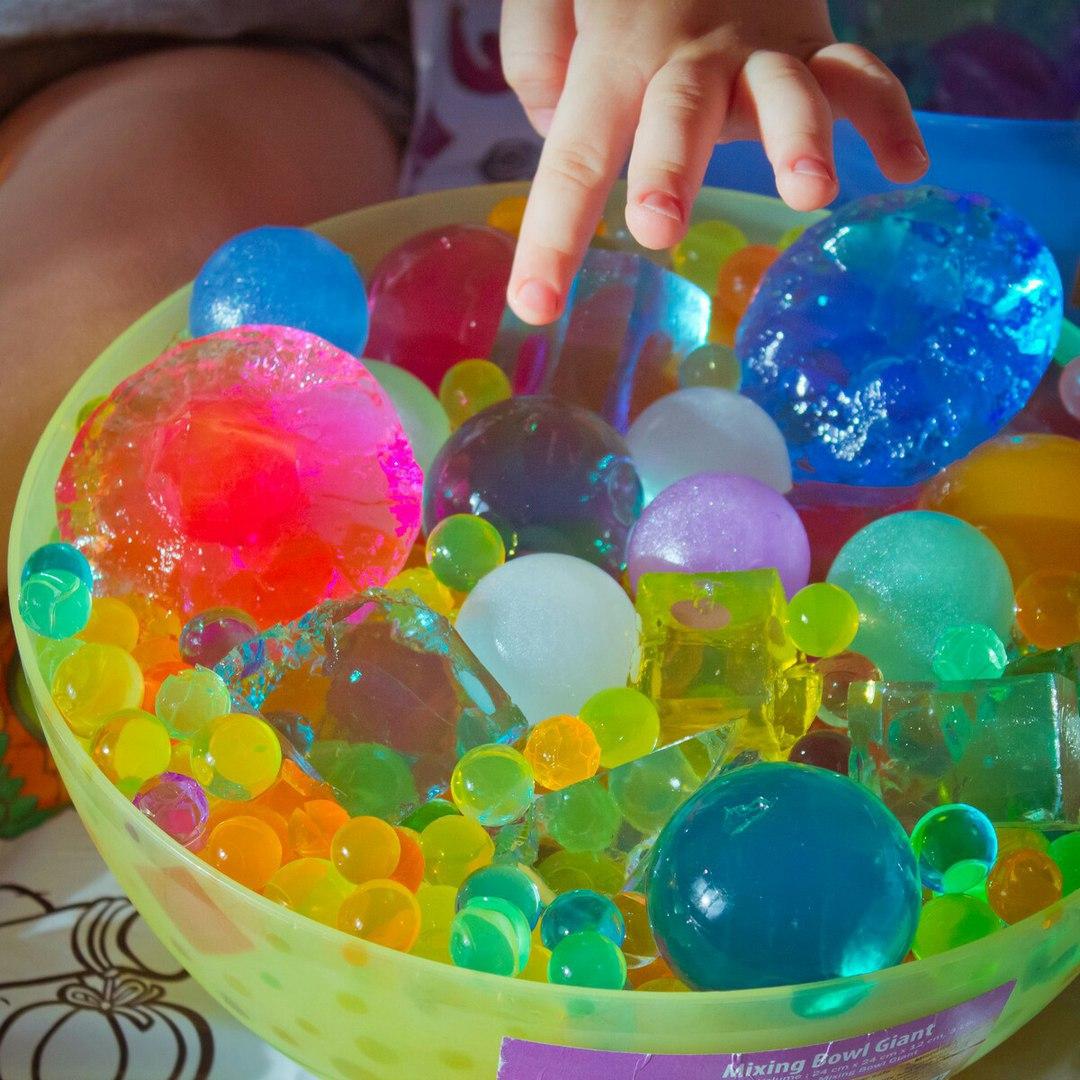 гидрогелевые шарики для детей