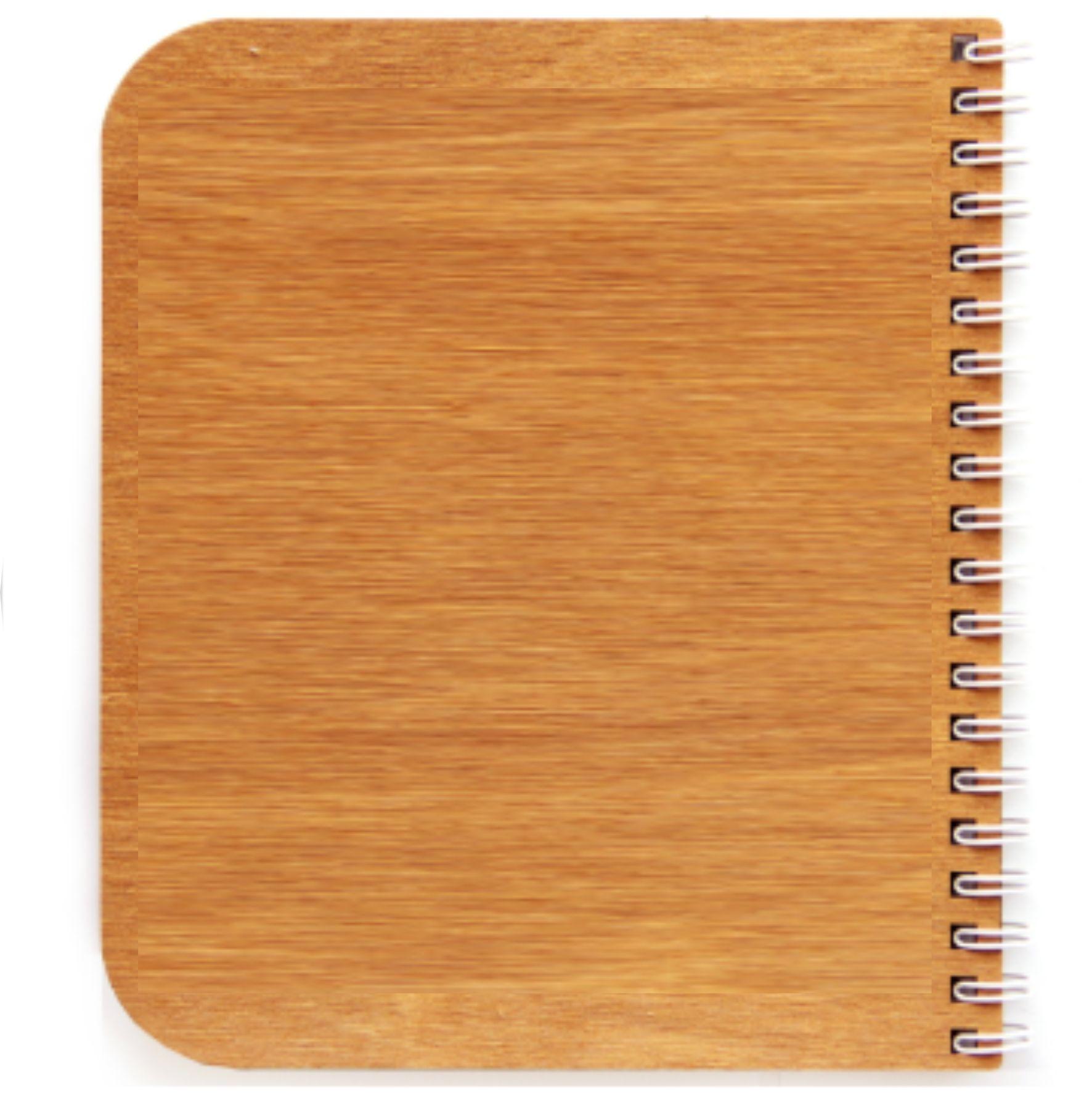 эко блокноты с деревянной обложкой