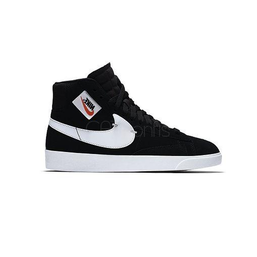 Nike Blazer Mid Rebel Black-White