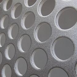 Кассеты из композитных панелей с отверстиями