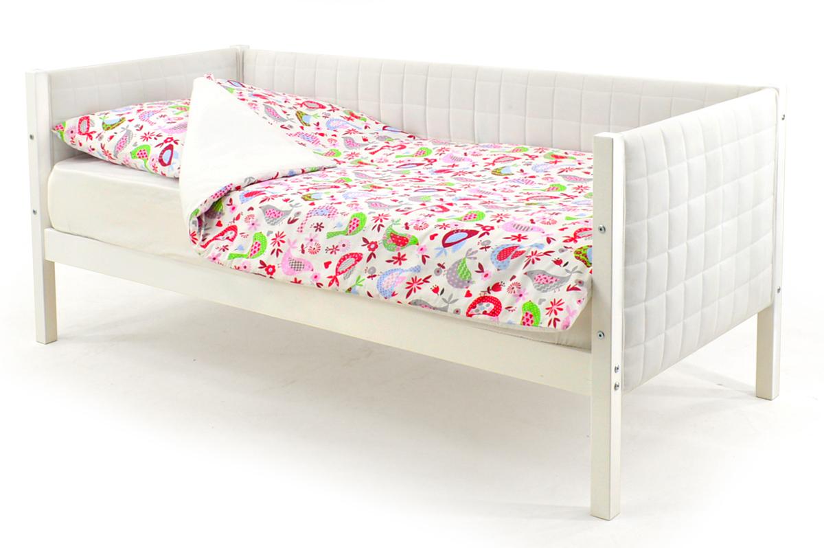 Кровать-тахта мягкая белый