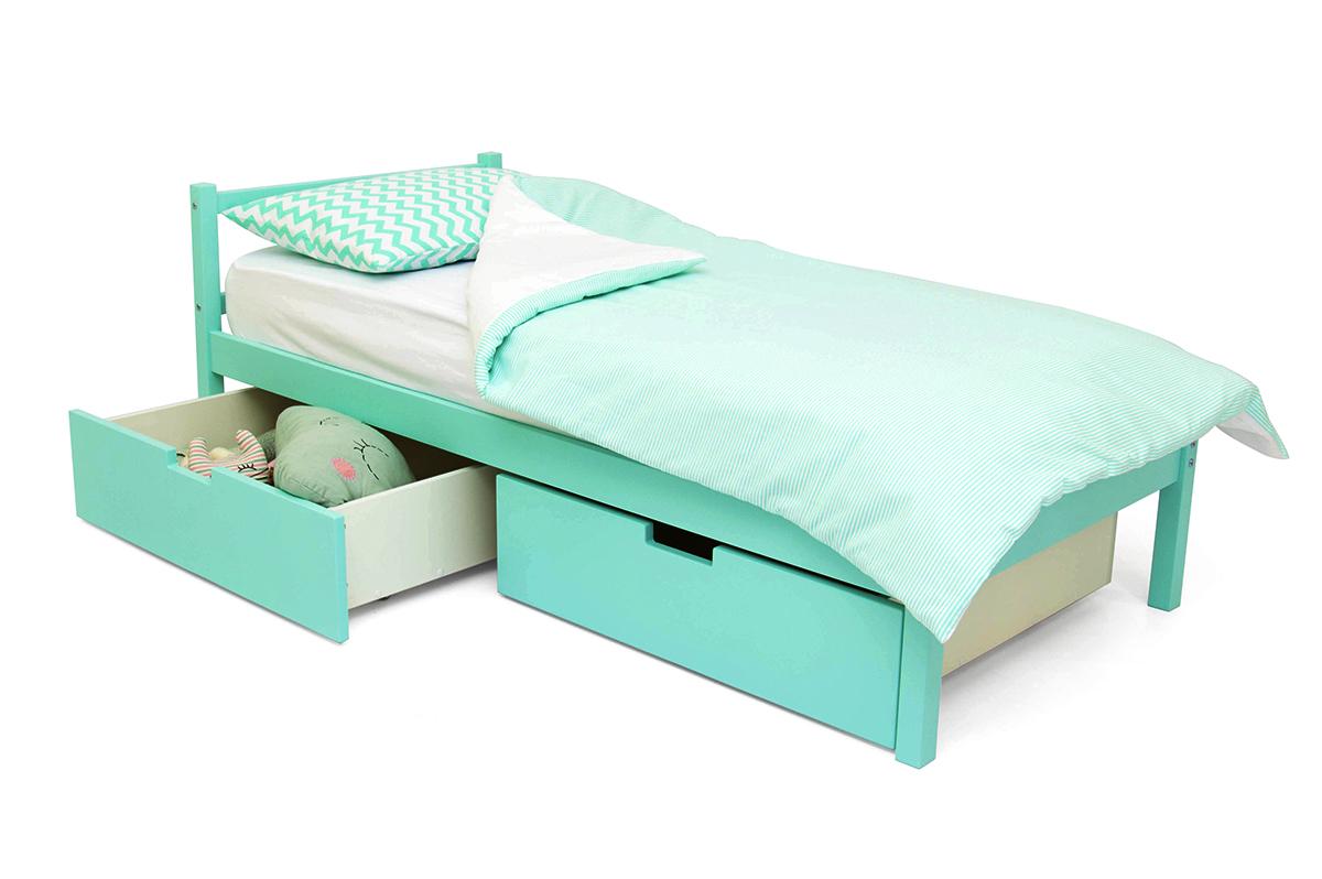 кровать детская мятный