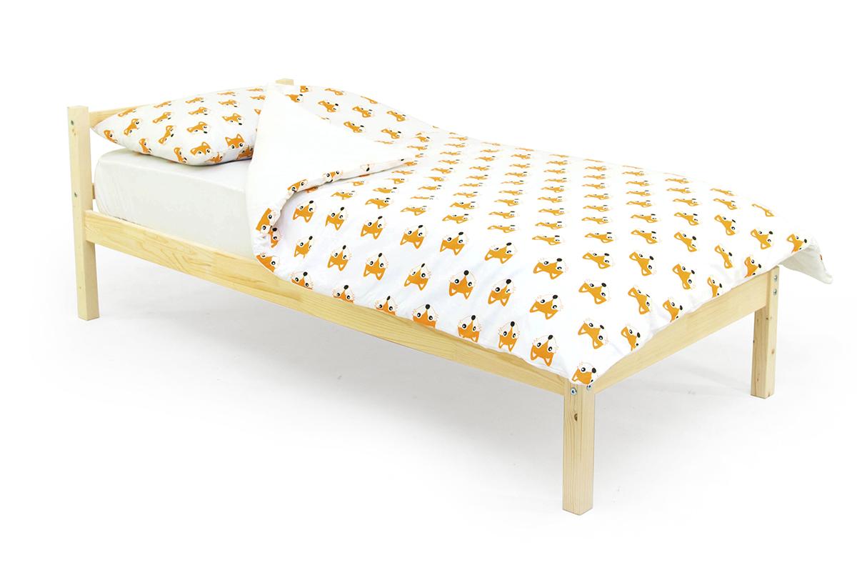 кровать детская натурал