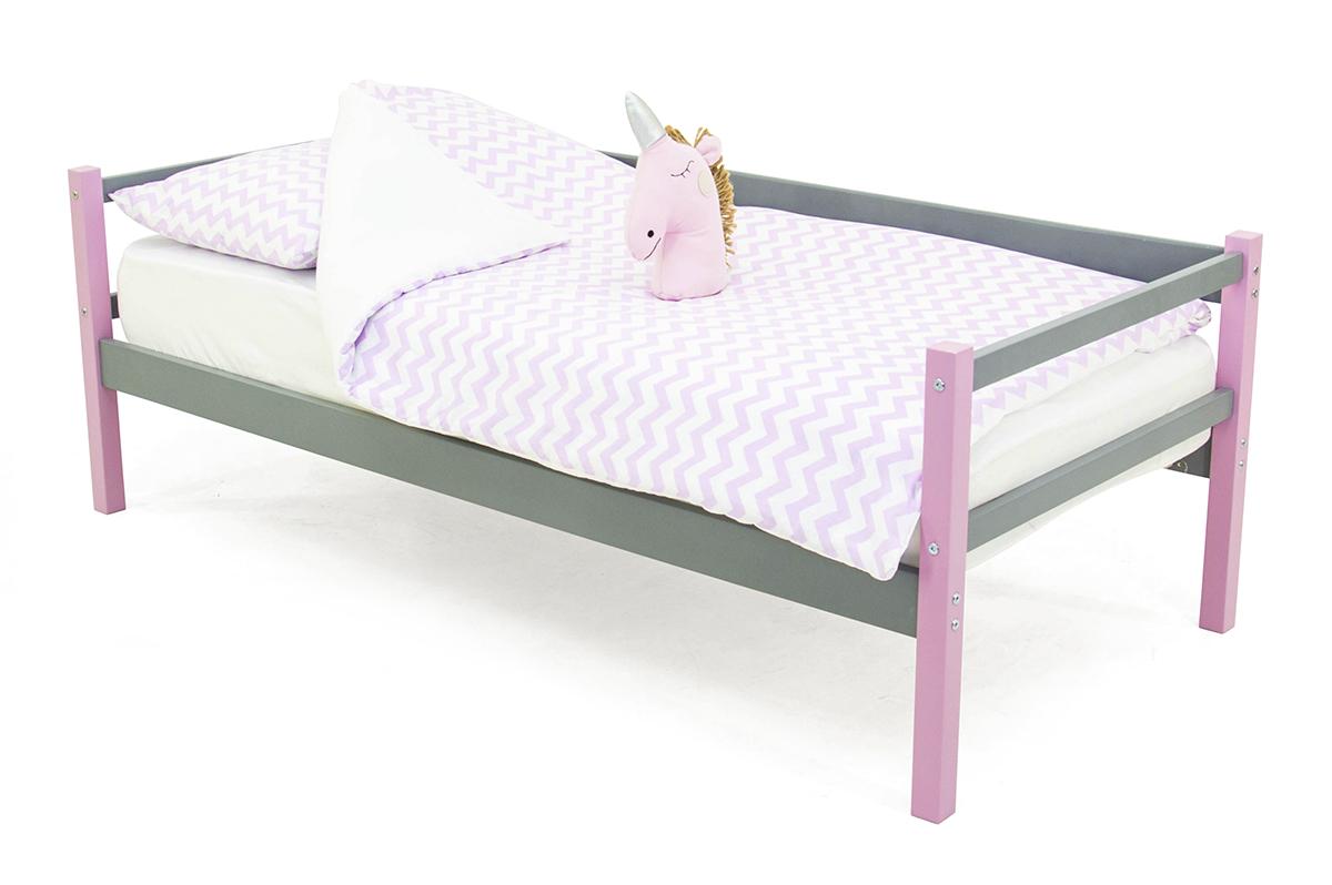 кровать-тахта лаванда-графит
