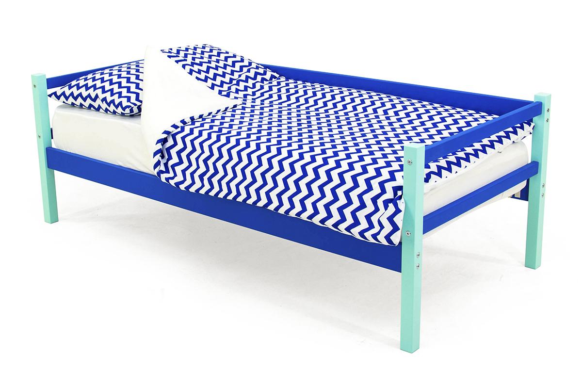 кровать-тахта мятно-синий