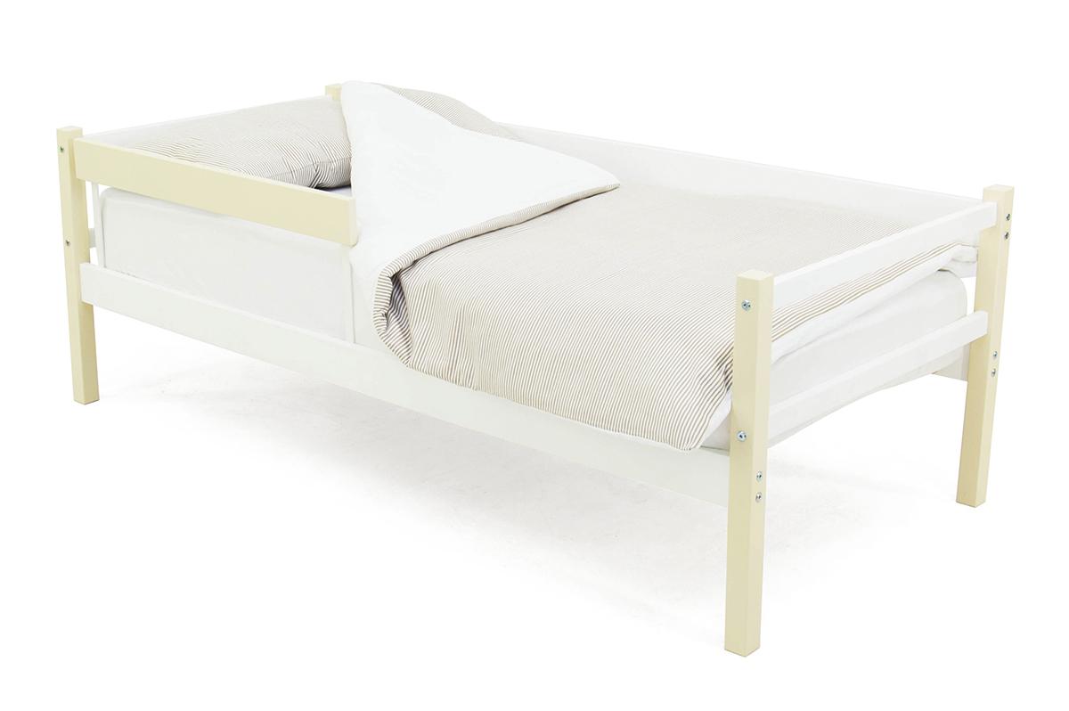 кровать-тахта бежево-белый